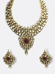 Trendy Jewellery Studded With Golden Shine Stones