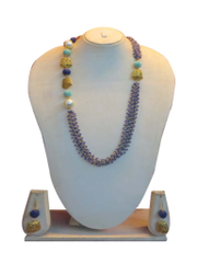 Multi Color Half Dangle Chain Set