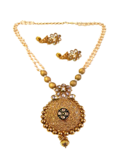 Gold Plated Stunning Pendant Set