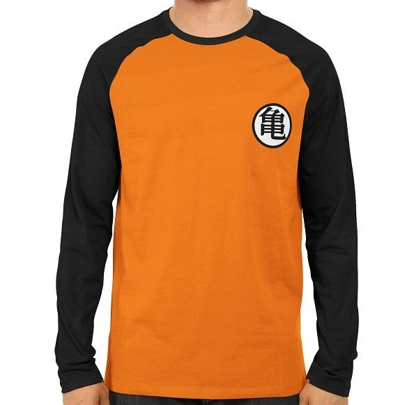 Dragon Ball Kame Symbol Raglan