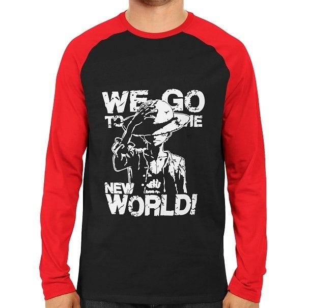 Monkey D Luffy World Raglan