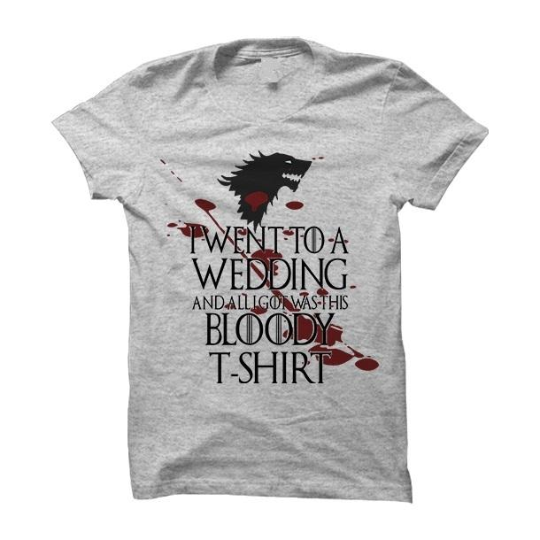 Wedding T shirt