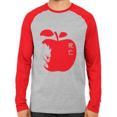 Death Note Apple Raglan