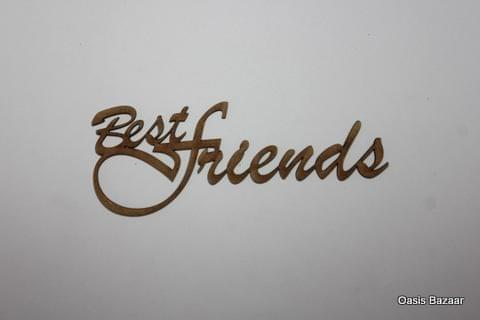 WE Letter Best Friends