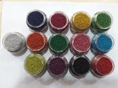 Glitter Balls (Set of 13 colors) 50gm. each