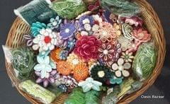 Assorted Flowers Basket 3
