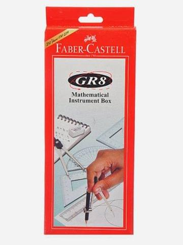 Faber-Castell GR8 Geometry Box  (Red)
