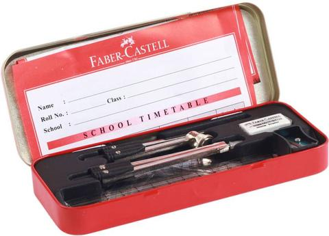 Faber-Castell Geometry Box  (Multicolor)