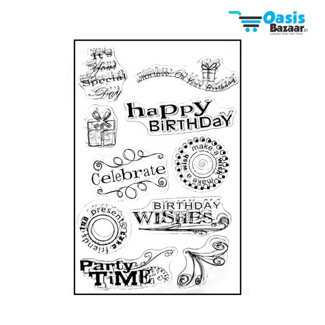 Clear Stamps 12