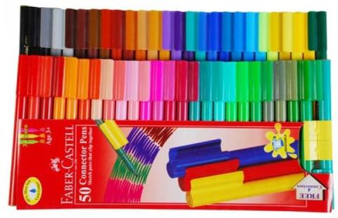 Faber-Castell Sketch Pen with Washable Ink  (Multicolor)