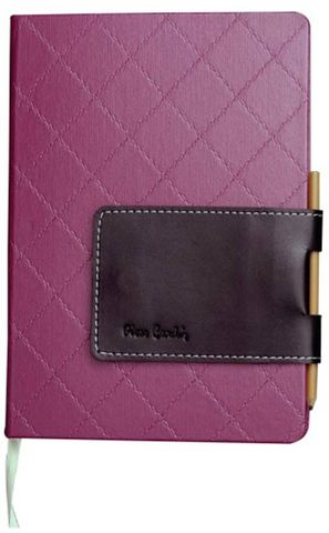 Pierre Cardin A5 Journal  (Purple)
