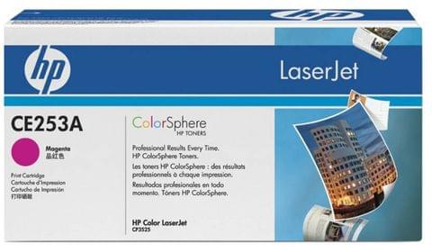 HP Color LaserJet CE253A Magenta Print Cartridge  (Magenta)