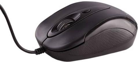 Xpro Spin Wired Optical Mouse  (PS/2, Black)