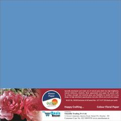Flower Paper - Light Blue