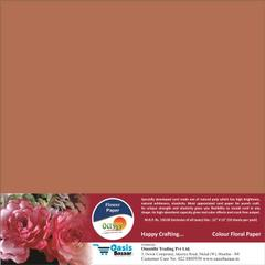 Flower Paper - Dark Brown