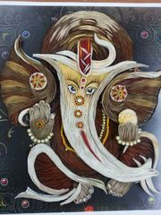 Ready Quilled Ganesha B