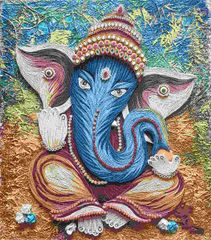 Ready Quilled Ganesha G