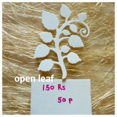 Open Leaf - 04