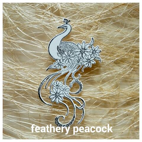 Feathery Peacock - 01