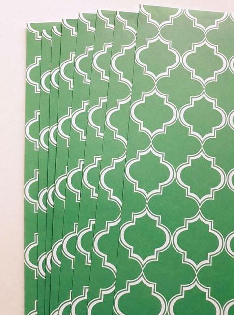 Handmade Papers - Green Large