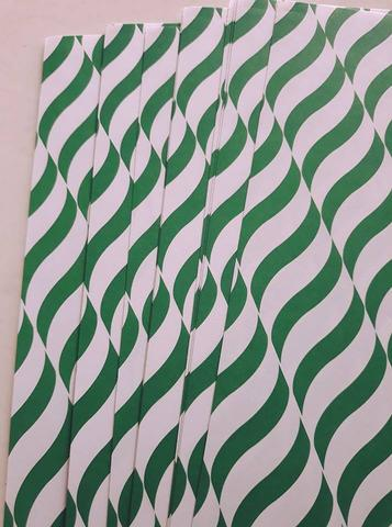 Handmade Papers - Green Wave