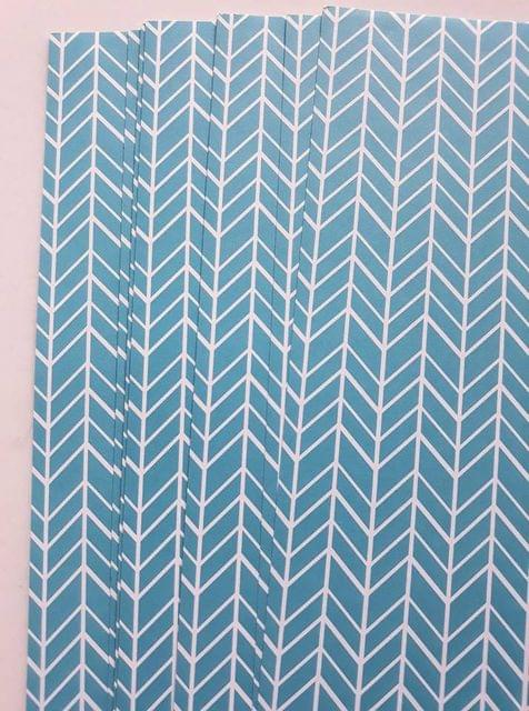 Handmade Papers - Turquoise Feature