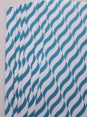 Handmade Papers - Turquoise Wave