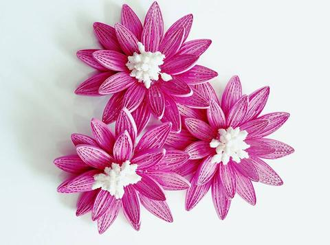 Quilled Flowers - 16