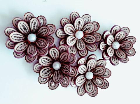 Quilled Flowers - 17