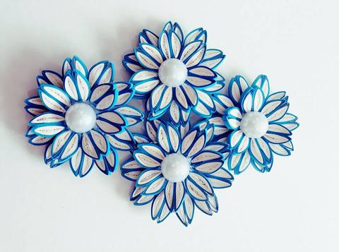 Quilled Flowers - 19