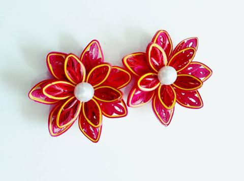 Quilled Flowers - 21