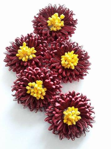 Quilled Flowers - 25