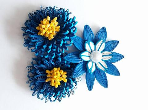 Quilled Flowers - 27