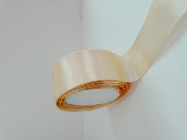 Oasis Satin Ribbon Peach 30.48mm X 10Meter