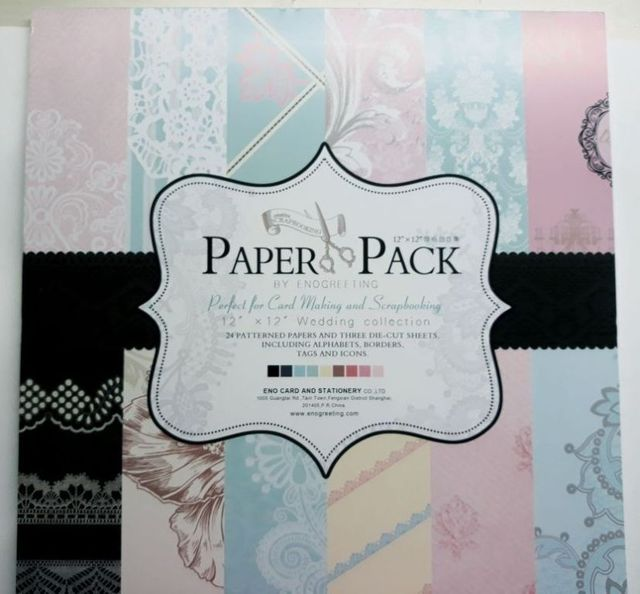 Paper Pack - perfect For Cardmaking & Scrapbooking, Wedding Collection