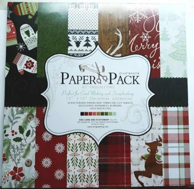 Paper Pack - perfect For Cardmaking & Scrapbooking, Christmas Collection.