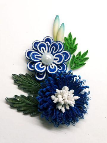 Quilled Bunches - 06