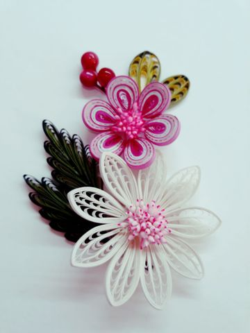 Quilled Bunches - 07