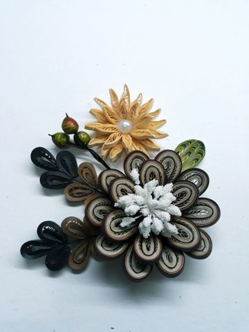 Quilled Bunches - 08