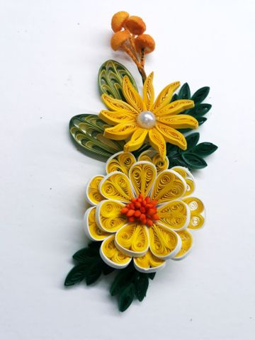 Quilled Bunches - 13