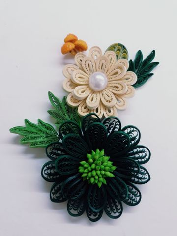 Quilled Bunches - 14