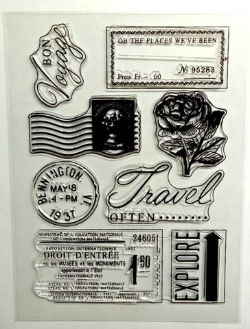 Clear Stamps - 033