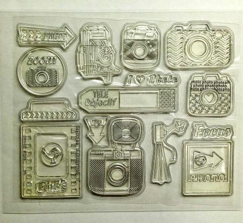 Clear Stamps - 037