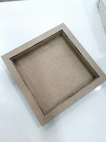 Wooden Tray in Square Shape 10 X 10 inches in Size