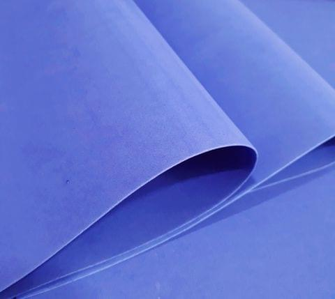 "Foam Sheets Light Blue in Color 18"" X 18"" Inches in Size."