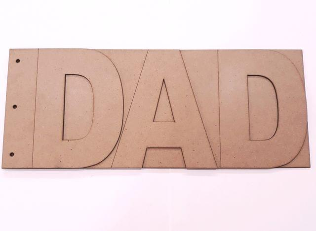 Wooden Album DAD