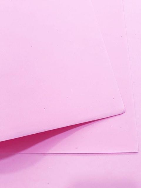 "Foam Sheets Baby Pink in Color 20"" X 20"" Inches in Size."