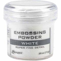 Embossing Powder - Super Fine White
