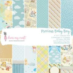 "Dress My Craft Precious Baby Boy - 6"" x 6"" Paper Pad"