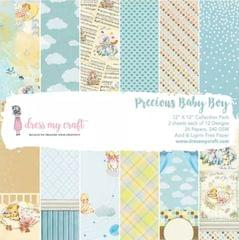 "Dress My Craft Precious Baby Boy - 12"" x 12"" Paper Pad"